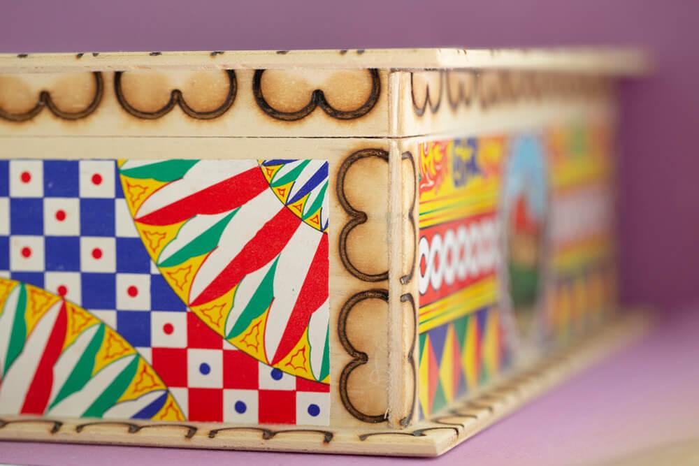Scatole per confezionare i dolci della storia pasticceria ericina